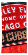 Chicago Cubs Wrigley Field Bath Towel