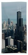 Chicago Looking East 04 Bath Towel
