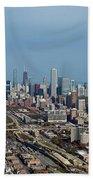 Chicago Looking North 01 Bath Towel
