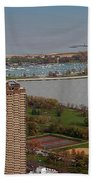 Chicago Montrose Harbor 01 Bath Towel