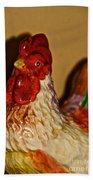 Chicken Shadow Bath Towel