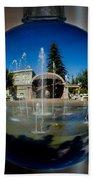 Chico City Plaza Bath Towel