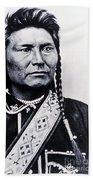 Chief Joseph Nez Perce Leader Bath Towel