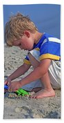 Childhood Beach Play Bath Towel