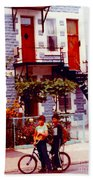 Childhood Montreal Memories Balconies And Bikes The Boys Of Summer Our Streets Tell Our Story Bath Towel