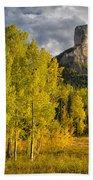 Chimney Rock San Juan Nf Colorado Img 9722 Bath Towel