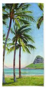 Chinamans Hat - Oahu Bath Towel
