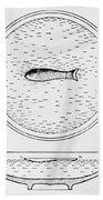 Chinese Compass Bath Towel