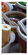Chinese Food Miniatures 3 Bath Towel