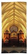 Choir Loft At Saint Josephs Cathedral Buffalo New York Bath Towel