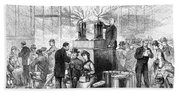 Cholera: 1884 Epidemic Bath Towel