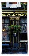 Chris's London Pub Bath Towel