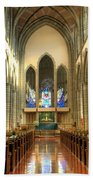 Christ Church Cathedral Victoria British Columbia Bath Towel