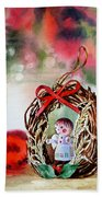 Christmas Angel Hand Towel