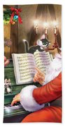 Christmas Carols Hand Towel by MGL Meiklejohn Graphics Licensing