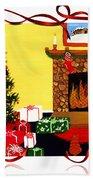 Christmas - Memories - Ribbons - Bows Bath Towel