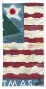 Christmas U.s.a. Bath Towel