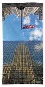 Chrysler Building Reflections Vertical 1 Bath Towel