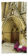 Church Door Bath Towel