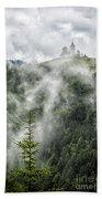 Church In The Clouds Bath Towel