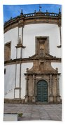 Church Of Monastery Of Serra Do Pilar In Portugal Hand Towel
