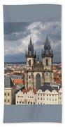 Church Of Our Lady Before Tyn - Prague Bath Towel