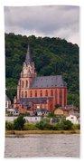 Church Of Our Lady  Oberwesel Am Rhein Bath Towel