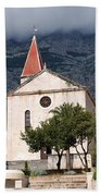 Church Of St.mark Makarska Bath Towel