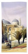 Church Of The Holy Sepulchre In Jerusalem Bath Towel