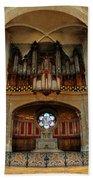 Church Organ Bath Towel