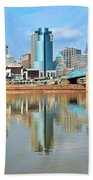 Cincinnati Reflects Bath Towel
