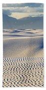 Circles In The Sand Bath Towel