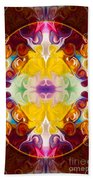 Circling The Unknown Abstract Healing Artwork By Omaste Witkowsk Bath Towel