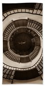 Circular Staircase In The Granitz Hunting Lodge Bath Towel