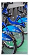 Citibike Rentals Nyc Bath Towel