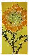 Citrus Fruit Bath Towel