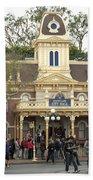 City Hall Main Street Disneyland Bath Towel