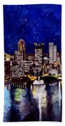 City Of Pittsburgh At The Point Bath Towel