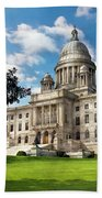 City - Providence Ri - The Capitol  Bath Towel
