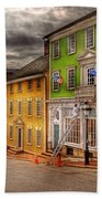 City - Providence Ri - Thomas Street Bath Towel