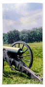 Civil War Cannons Bath Towel