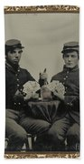 Civil War Soldiers C1863 Bath Towel