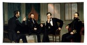 Civil War Union Leaders -- The Peacemakers Bath Towel