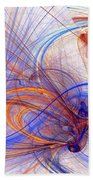 Clash Of Fire And Ice Bath Towel