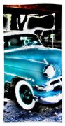 Classic Cars Bath Towel