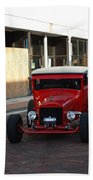 Classic Custom Hotrod Bath Towel