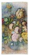 Classical Bouquet - V01c Bath Towel