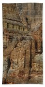 Clay Mountain Formations In Front Bath Towel