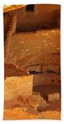 Cliff Dwellings Bath Towel