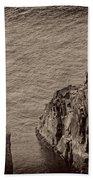 Cliffs At Bonavista Bath Towel